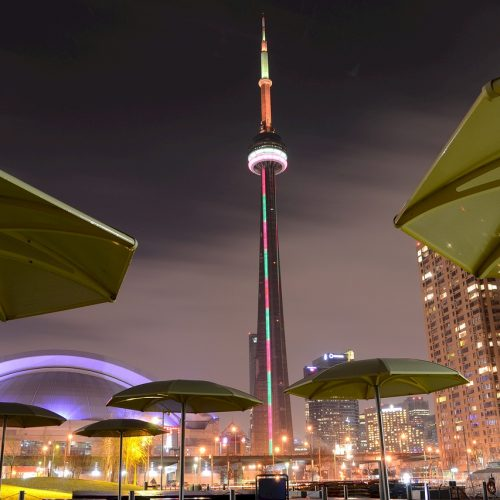 Toronto's attractions CN Tower