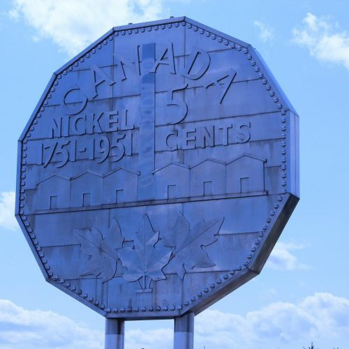 big nickle in Sudbury