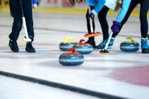Curling is great way to pass time in Toronto during winter.