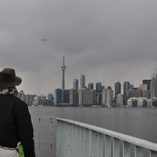 Toronto during winter.