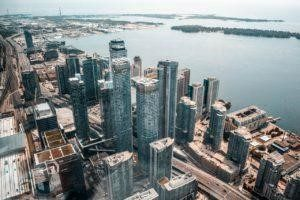 The view of Toronto