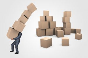Hire movers to help you with moving for a job