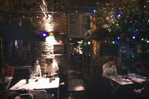 Dining is a big feature in the Toronto nightlife.