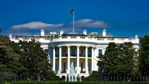 The White House, during the day.