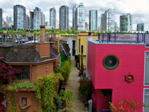 Vancouver City - Vancouver best places for artists in Canada