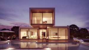 a modern house you could live in afte moving to the USA.