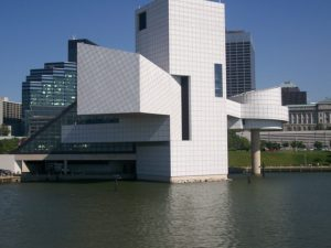 Rock and roll Hall of fame.