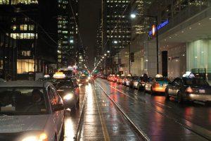 Toronto by night.