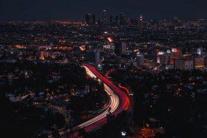 Skyview of Los Angels.