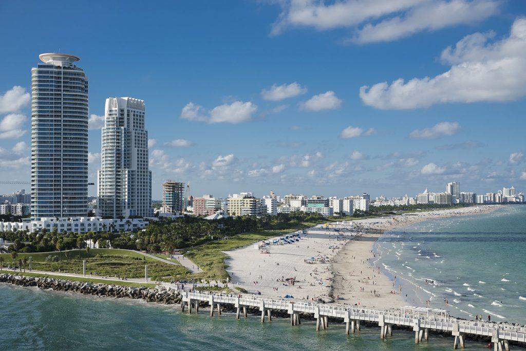 Miami Beach view.