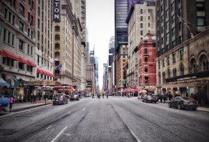 NYC street.