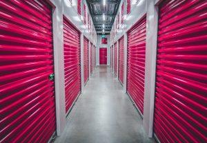 A storage unit facility.