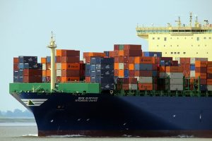 Container ship - This is a great way of transport you can use for exporting Canadian goods to the Middle East.